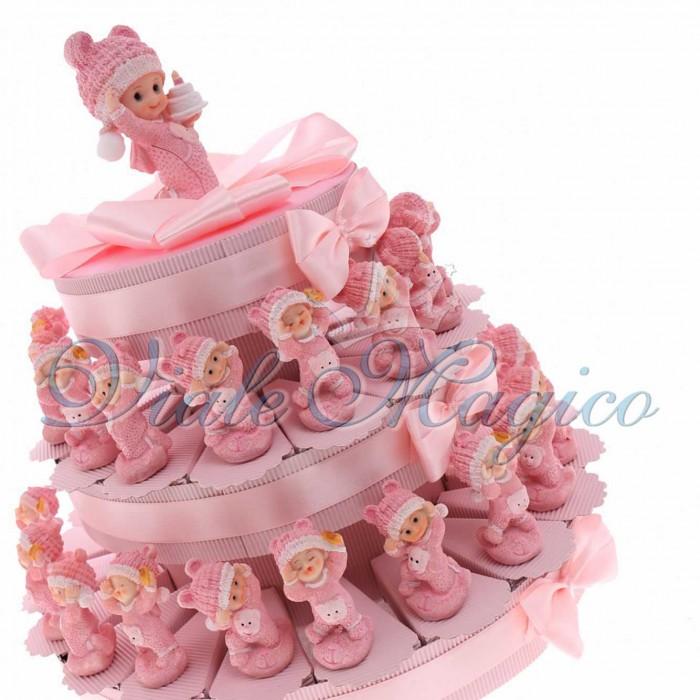 Favoloso Bomboniere Nascita Battesimo Primo Compleanno Confetti con  VK66