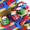 Torta Bomboniere Prima Comunione Compleanno con Statuina Mini Couper Color