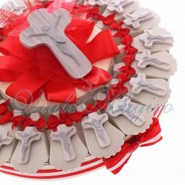 Torta Bomboniere Magnete Crocifisso Legno