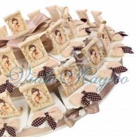 Maxi Torta con Pergamena Sacra Famiglia