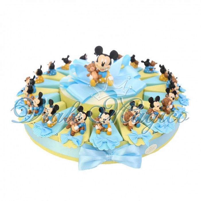 Favorito Negozio Online Bomboniere Disney Torta Multipiano Topolino Alzatina AT43
