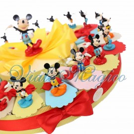 Torta Disney Statuina Topolino Mix Color