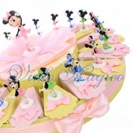 Torta Disney Statuina Minnie Ballerina