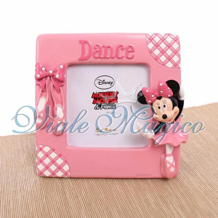 Bomboniere Online Disney Compleanno Portafoto Minnie Pois Ballerina Rosa