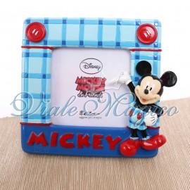 Bomboniere Compleanno Disney Portafoto Topolino Quadrettato Bimbo