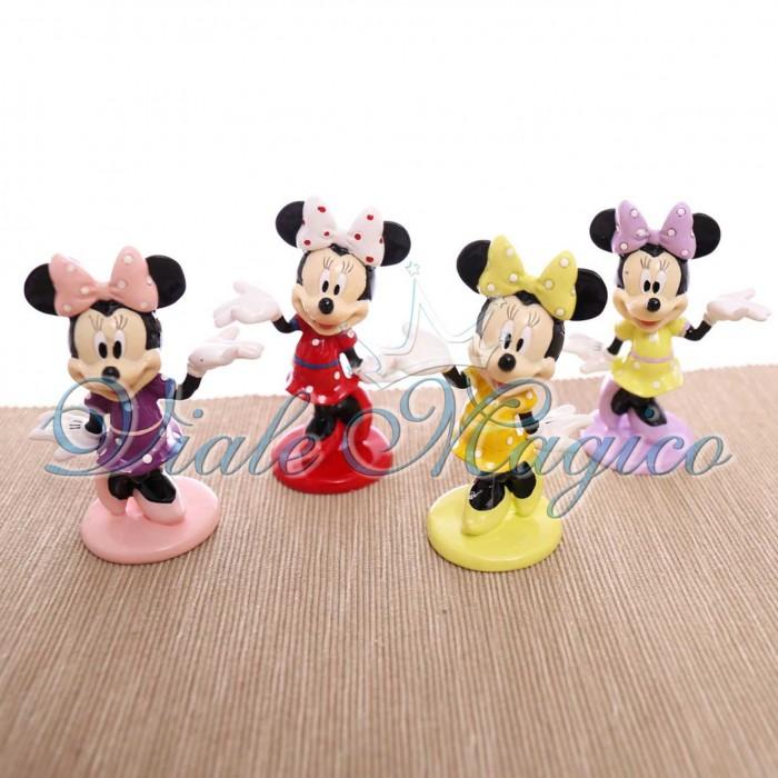 Bomboniere Disney Primo Compleanno Fai da te Statuina Minnie Pois Compleanno
