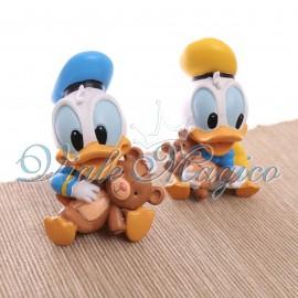 Bomboniere Disney Primo Compleanno Statuina Maxi Paperino Baby Nascita
