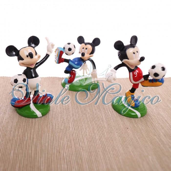 Bomboniere Online Disney Statuina Topolino Calciatore Compleanno