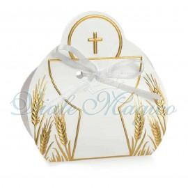 20 PZ Scatoline Calice Prima Comunione Croce Sacra