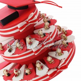 Torta Bomboniere Portachiavi Mappamondo Laurea