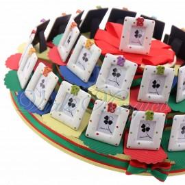 Maxi Torta Portaconfetti con Portafoto 18° Compleanno