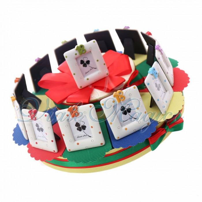 Torta Bomboniere Online Portaconfetti con Portafoto 18° Compleanno