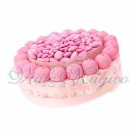Vendita Torta Marshmallow e Confetti per Comunione Nascita Bimba