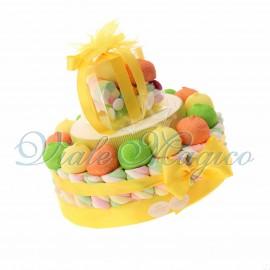 Torta Marshmallow Caramelle per Compleanno Ragazzo Ragazza 18 Anni