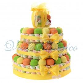 Torta Marshmallow per Compleanno 3 piani