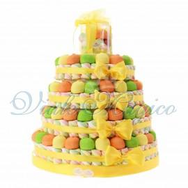 Torta Caramelle per Compleanno 4 piani