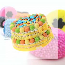 Torta Marshmallow e Confettata per Compleanno 2 piani