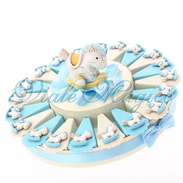 Torta Bomboniere con Magnete Pony Pupo