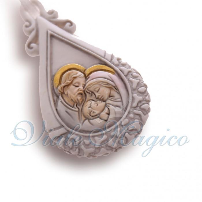 Bomboniere Online Comunione Battesimo Appendino Sacra Famiglia Goccia Faidate