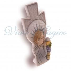 Bomboniera Online Faidate Statuina Croce Comunione Bimbo