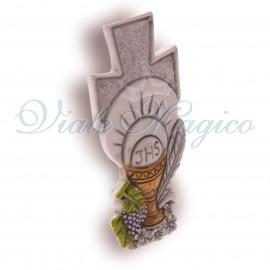 Bomboniere Prima Comunione Economiche Faidate Statuina Sacra Croce Calice Offerte