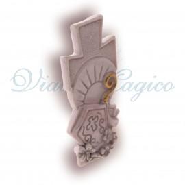 Bomboniere Faidate Handmade Cresima Statuina Sacra Croce in Offerta
