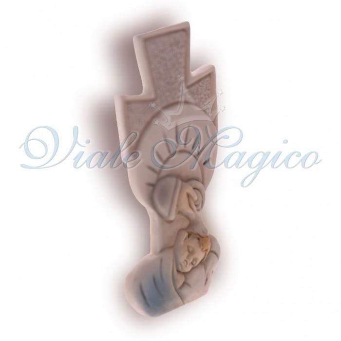Bomboniere Battesimo Bimbo Statuina Croce Sacra Poco Prezzo Fai da Te