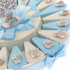 Torte Nascita Bomboniere Online con Magnete Accessori Bimbo Confettate