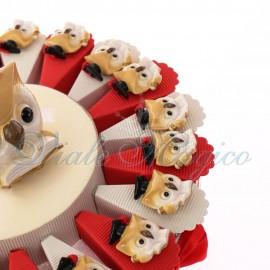 Torte Bomboniere Magnete Gufo Maestoso Laureato