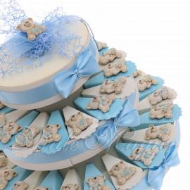 Torta Bomboniere con Magnete Orsetti Toys Bimbo