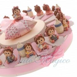 Torta Alzatina con Bimba Giocherellona