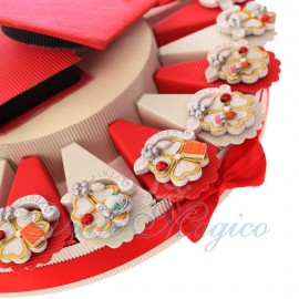 Torta Bomboniere Online Mix Quadrifoglio Laureato