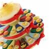 Torta Bomboniere Confetti con Magnete Smile 10 Modelli