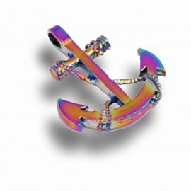 Bomboniera Compleanno Ancora Maxi Tema Mare Arcobaleno RainBow