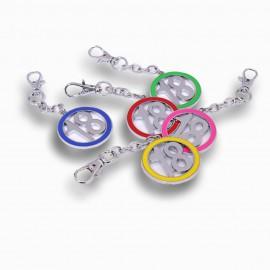 Bomboniere Gadget Compleanno Cerchio 18 Mix Color Ragazzo Ragazza