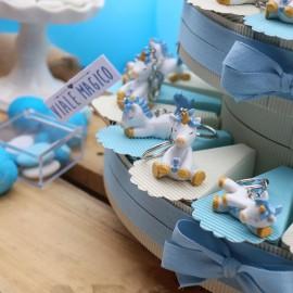 Torta Unicorno Portachiavi Dormiglione per Bimbo