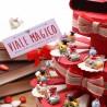 Libroni Interessanti con Portachiave Torta Bomboniera Laurea