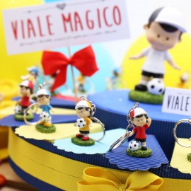Torte Bomboniere Calcio Portachiavi Calciatore Compleanno