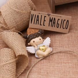 """Calamita Angioletto Bimba """"Cuore degli Angeli"""""""