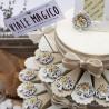 Sacro Albero della Vita con Magnete Sacra Famiglia su Torta