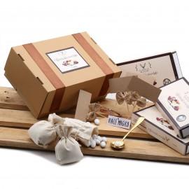 """KIT CONFETTI 5 Kg gusti a scelta e accessori per CONFETTATE """"Officina del Cioccolato"""""""