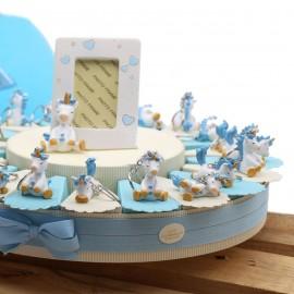 Torte Bomboniera Primo Compleanno Portachiave Unicorno Dormiglione Bimbo