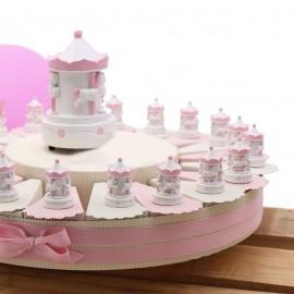 Torta Bomboniere Statuine Carillon Bimba