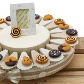 Torte Bomboniera Compleanno Dolcetti con Calamita Confetti Pensierini