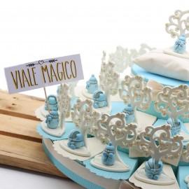 Torta Bomboniere Albero della Vita Carrozzine e Biberon Bimbo