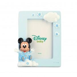 Bomboniere Disney Primo Compleanno Nascita Portafoto Topolino Baby Bimbo Rosa