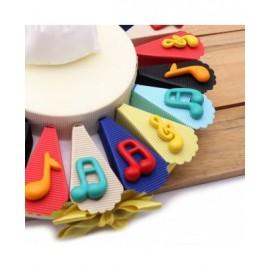 Note Musicali Compleanno Colorate Torta Bomboniere Magnete