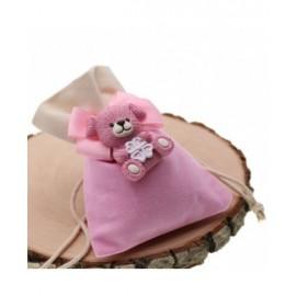 Bomboniere Nascita con confetti Magnete Cagnolino Lucky Bimba