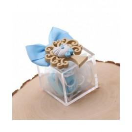 Bomboniere Nascita con confetti Magnete Albero della Nascita Bimbo Su Plexiglass