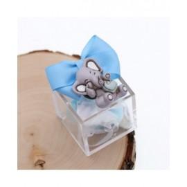 Bomboniere Nascita con Confetti Magnete Bimbo Elefantino Effye